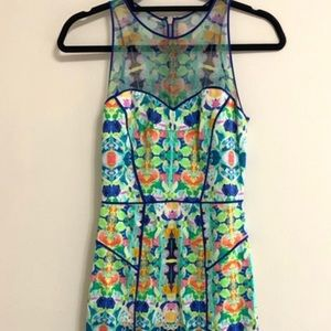 Milly illusion top dress